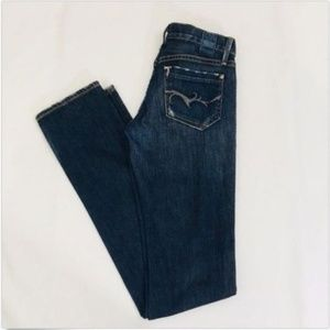 GOLDSIGN Misfit Slim Straight Jeans Size 25